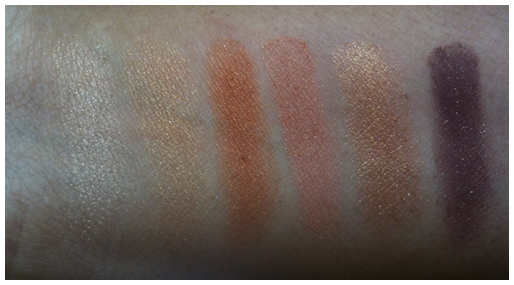 wet n wild golden godess swatches