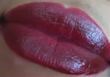 mac love peck swatch