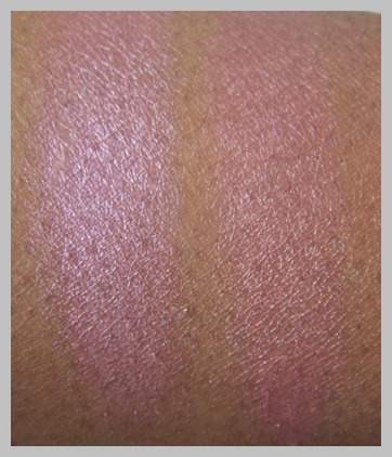 mac redhead dupes MAC Naturally Collection Swatches