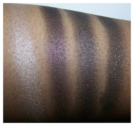 downtown browns 2nd flash Black Radiance 8 Pan Palette Swatches