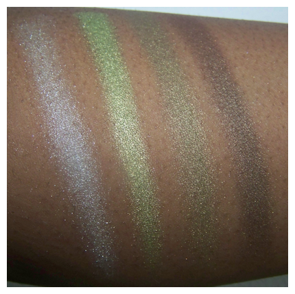 urban jungle 1st flash Black Radiance 8 Pan Palette Swatches