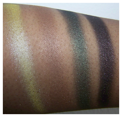 urban jungle 2nd flash Black Radiance 8 Pan Palette Swatches