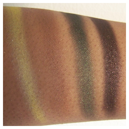 urban jungle 2nd Black Radiance 8 Pan Palette Swatches