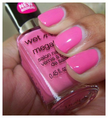 wet n wild candylicious swatch close