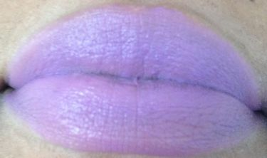 mac evening stroll lip swatch