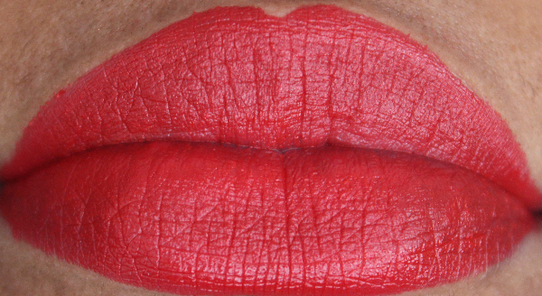 mac Eden Rouge lip swatch