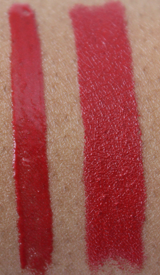 mac Ready to Roam and eden rouge swatch