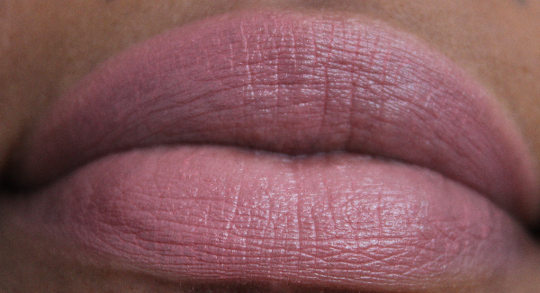 mac haute altitude lip swatch