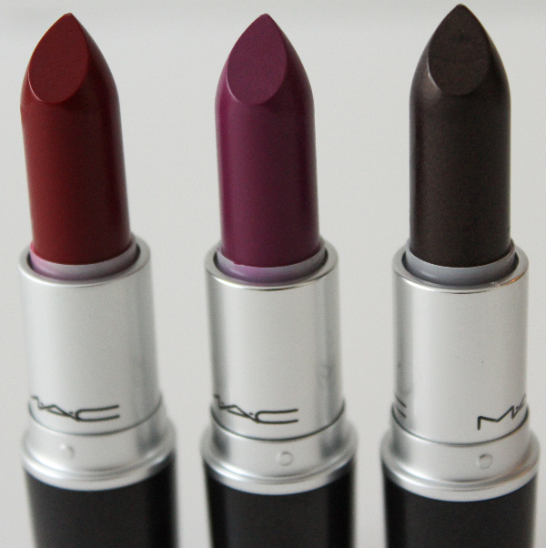 mac strength collection lipsticks MAC Strength Lipstick Swatches