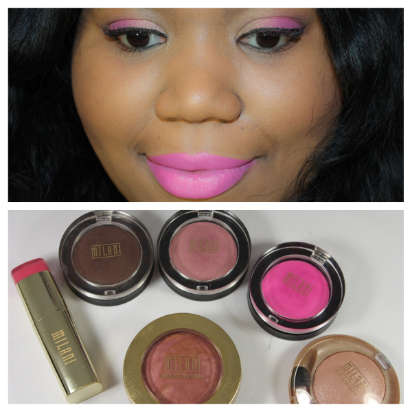 milani cosmetics valentines day look