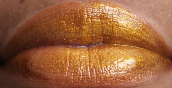lime crime golden ticket lip swatch