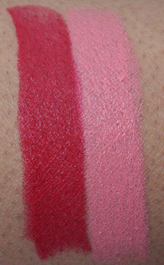 mac archie lipsticks swatches