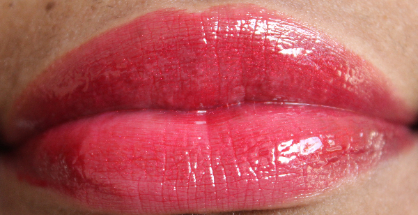 mac cult of cherry lip swatch