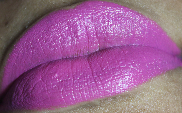 mac daddy's little girl lip swatch