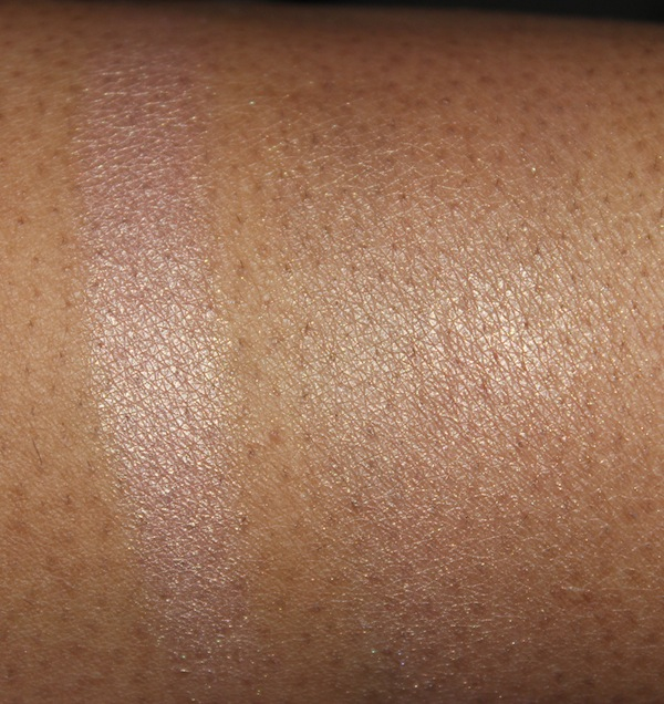 mac shell pearl swatch flash