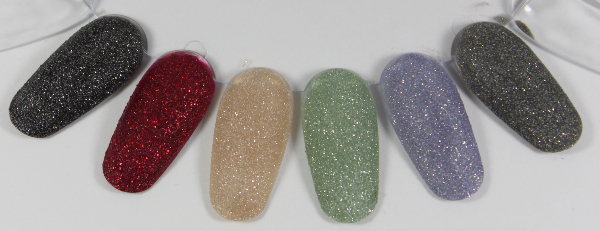 zoya pixiedust collection swatches