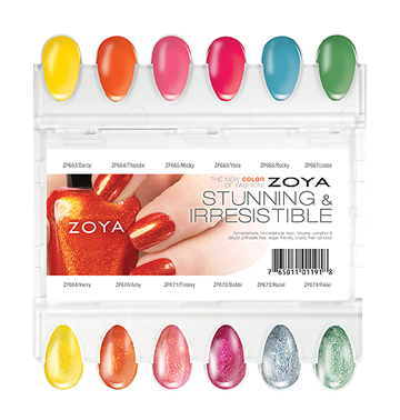 ZP SUMMER 2013 Nail Plate RGB SM Introducing Zoya Stunning and Irresistible Summer Collection