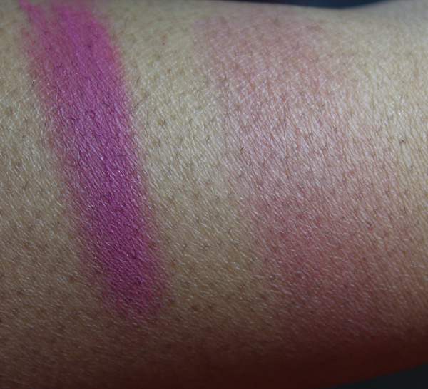 mac passionately tempted swatch