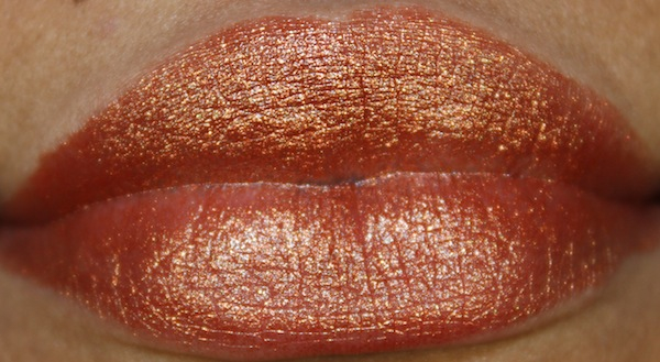 milani 31 bronze beauty lip swatch