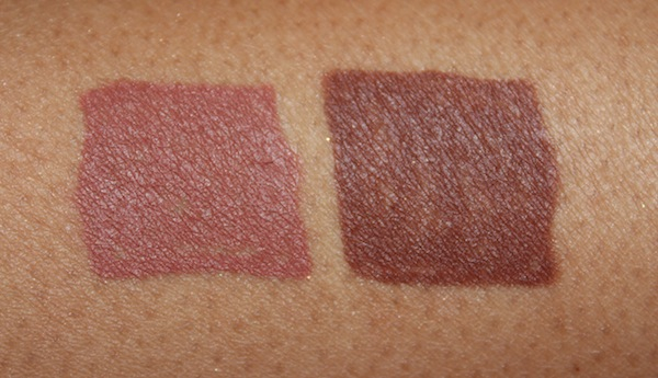 milani color statement lip liner 09 10 swatch New Milani Color Statement Natural and Brown Lipsticks