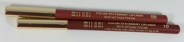 milani color statement lip liner natural and brown