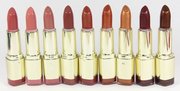 milani color statement naturals & browns lipstick open