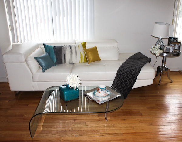 Living Room Makeover with Target Threshold Collection | Beauty In ...