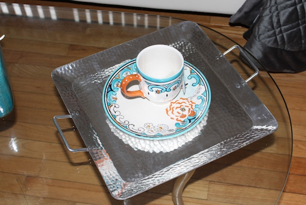 target threshold tray and cup
