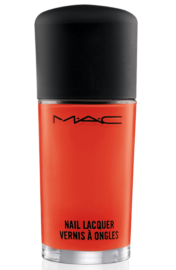 AllAboutOrange NailLacquer Morange 72 Introducing MAC All About Orange Collection