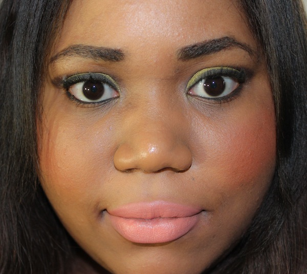MAC sushi kiss lipstick full face
