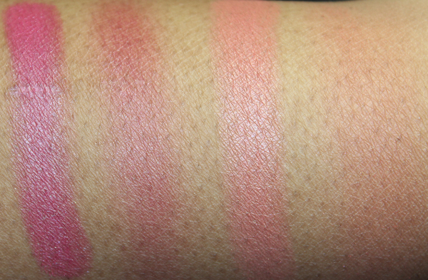 mac ripe for love and hot nights swatch
