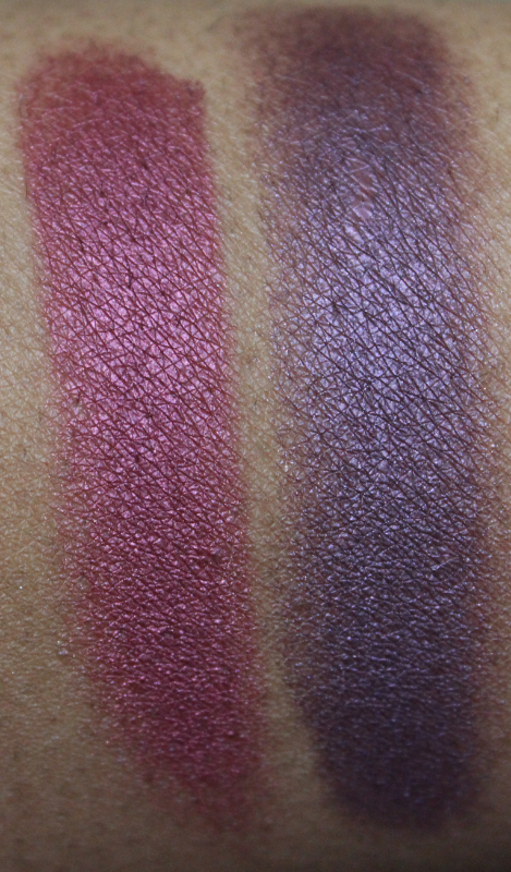 mac crimson tryst and brazenly eyeshadow
