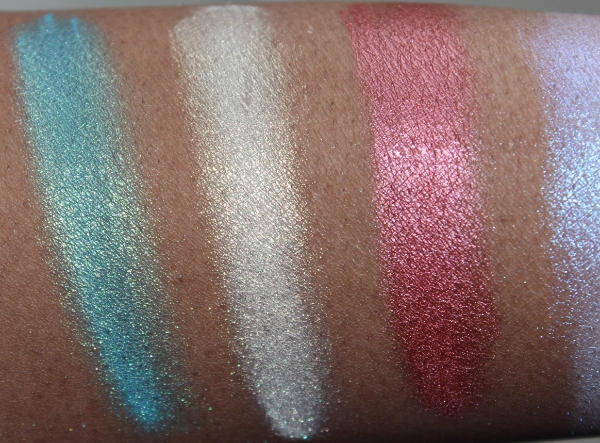 make up for ever star powder swatches-3