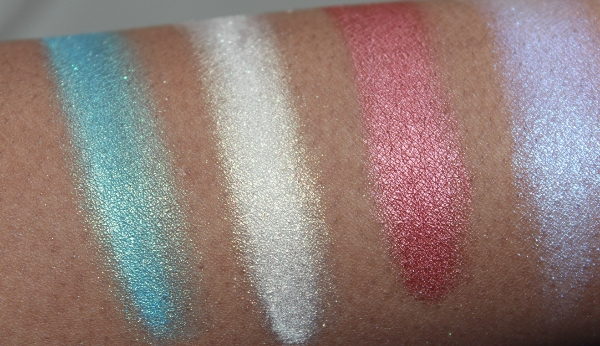 make up for ever star powder swatches-4