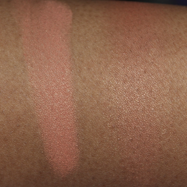 milani warm petals blush arm swatch