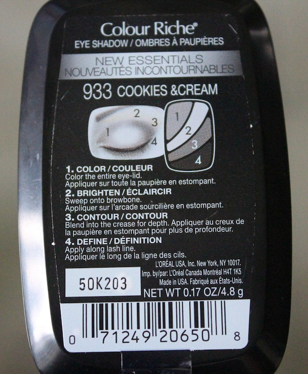 Loreal colour riche cookies and cream-2