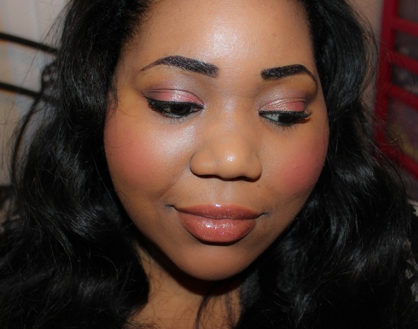 pink pepper passion look 2 FOTD: Pink Pepper Passion