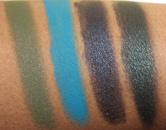 Nars Eye Paint swatches