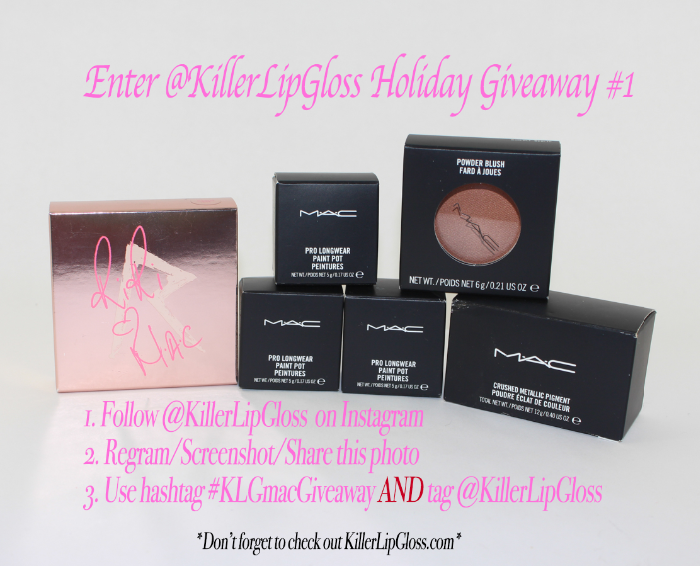 mac holiday giveaway