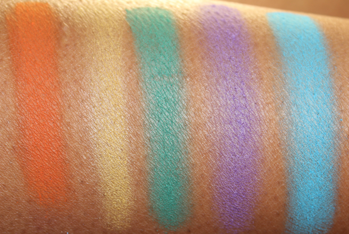 Wet N Wild art in the streets swatches