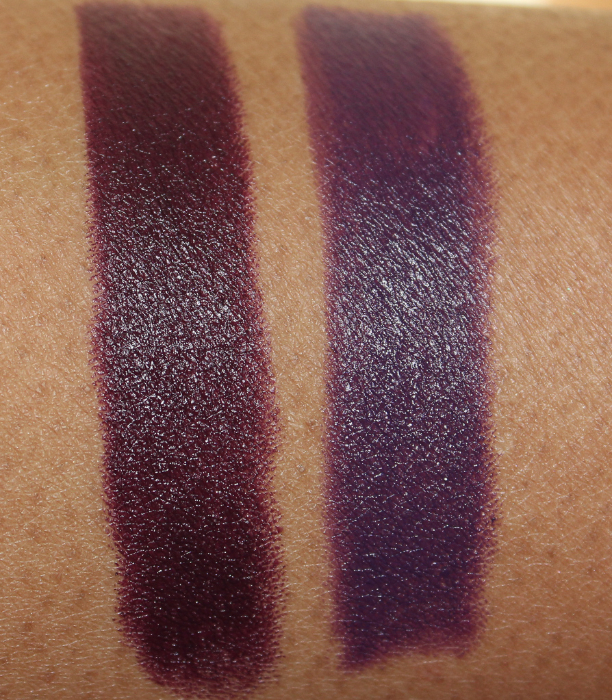 mac Punk Couture swatches
