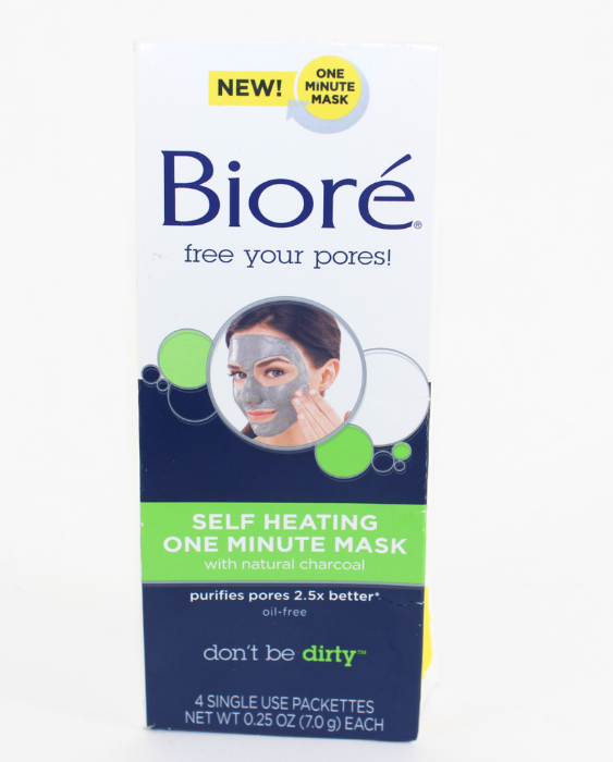 Biore Self Heating One Minute Mask | Beauty In The Geek
