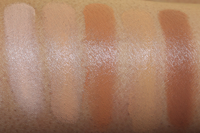 makeup forever foundation palette swatches-2