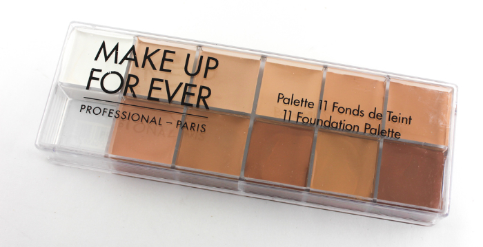 makeup forever foundation palette
