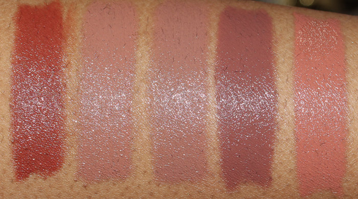 maybelline in the buff swatches