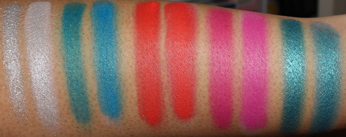 urban decay electric palette swatches