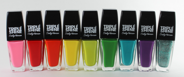 Sally Hansen Triple Shine Nail Polishes