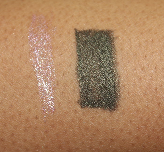 jane cosmetics eye liners swatches