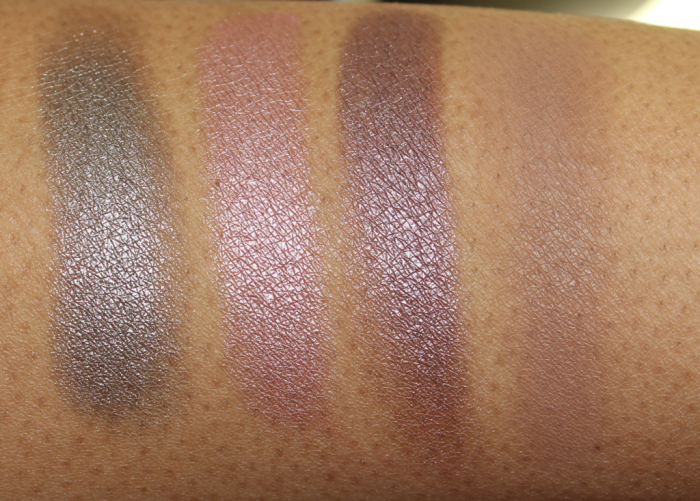 jane cosmetics eye shadow swatches