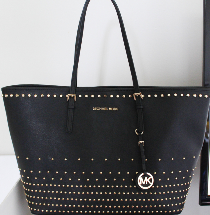Michael Kors Jet Set Travel Stud Degrade tote-2